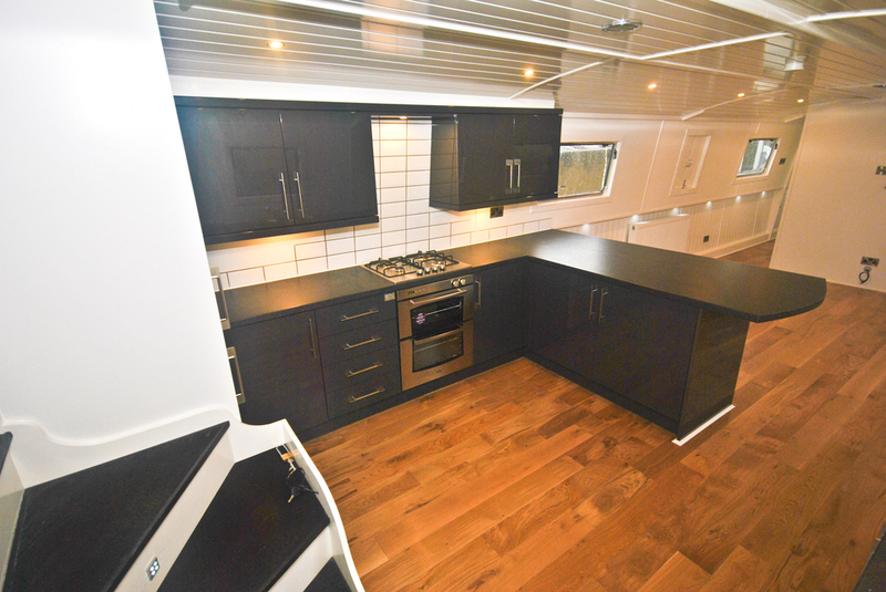 Pendle our way widebeam boat for Narrowboat interior designs