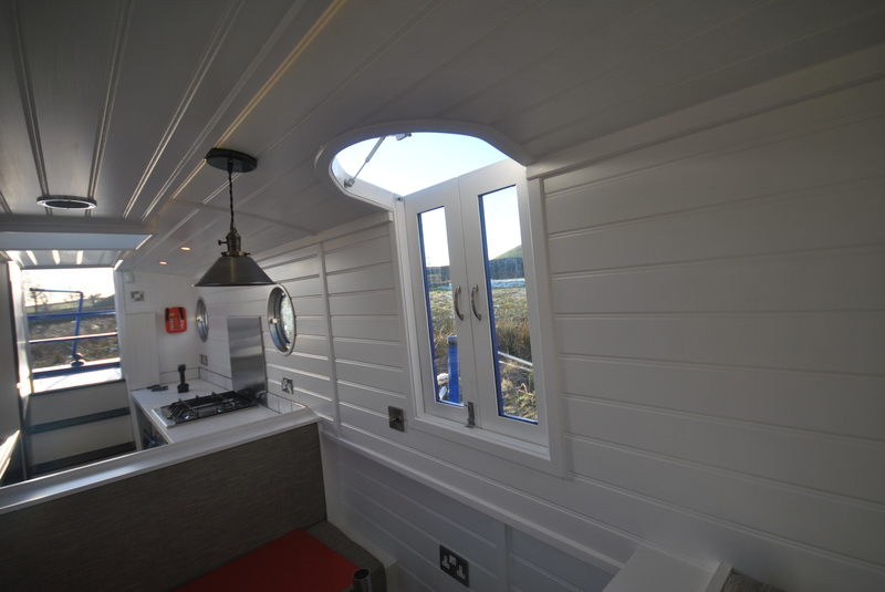 Pendle Narrowboats Com Valencia 53 Narrowboat Enclosed Bow
